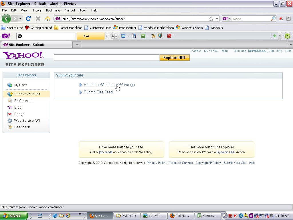 Help for Yahoo Search